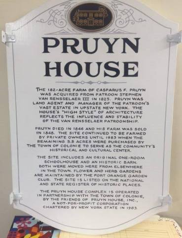 Pruyn House_sign_b